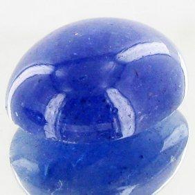 13.2ct Tanzanite Cabochon Strong Color