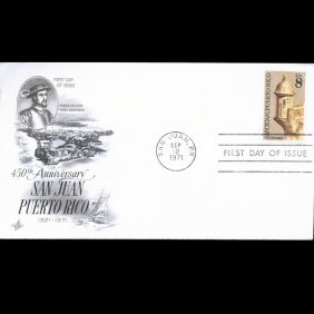 1971 US First Day Postal Cover