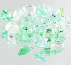 1.25ct Neon Blue Green Cuprian Tourmaline Parcel