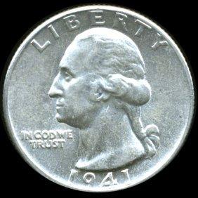 1941D Washington 25c MS63
