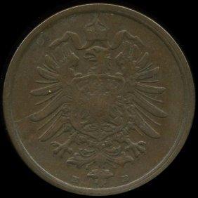 1875E Germany 2pf VF/XF