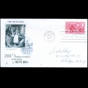 1952 Us First Day Postal Cover