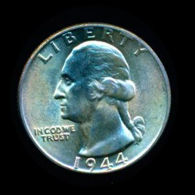1944 Washington 25c MS67+ Hi Book Value