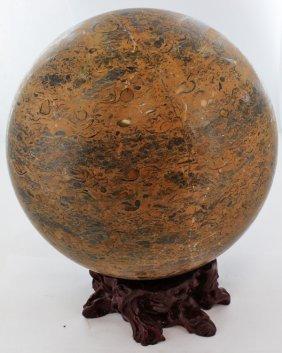 56000ct Huge Polished Agate Sphere