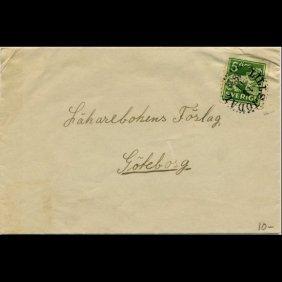 1925 Sweden 5o #116 Cover Scarce