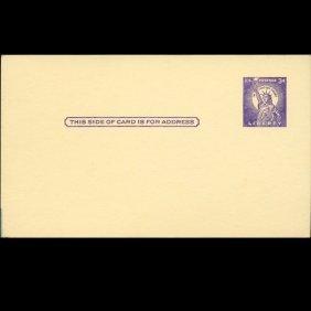 1958 Us Unused Postal Card