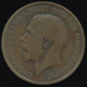 1913 Britain 1p Vf/xf