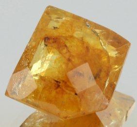 4.65ct Deep Yellow Orange Tourmaline Fancy Cut
