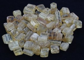 111.5ct Yellow Topaz Beads Parcel