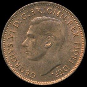 1951 Britian 1/4p Ms64