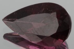 3ct Rubellite Tourmaline Pear Cut