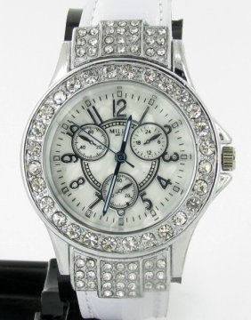 New Miler Ladies Mop Chrono Style Watch