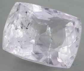 4.2ct Pink Kunzite Cushion
