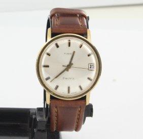 Vintage Timex Electric Mens Goldfilled Watch Hidden