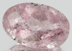 5.65ct Light Pink Tourmaline Oval Cut
