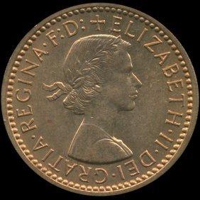 1955 Britian 1/4p Ms64