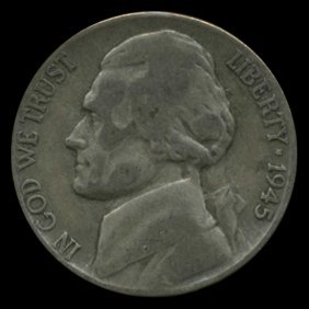 1945p/d/s Jefferson Silver War Nickel Set