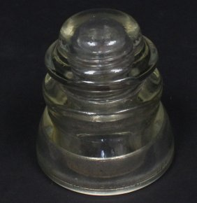 Antique Glass Electric Insulator