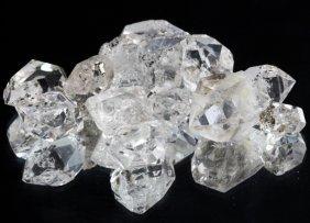 102.05ct Crystal Parcel Ny Herkimer Diamond Hi Grade