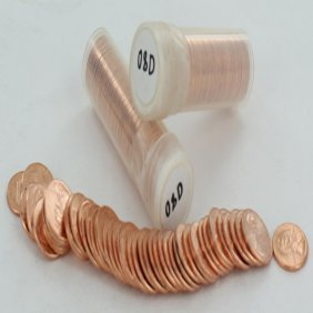 2008d Unsearched Estate Hoard Bu Cent 3 Rolls Of 50