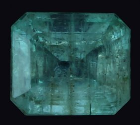 1.18ct Mint Green Colombian Emerald