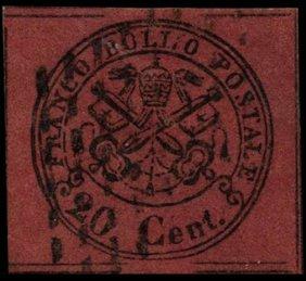 1867 Papal States 20b Stamp