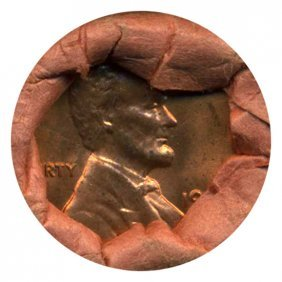 1964 Lincoln Cent Scarce Never Opened Original Bank