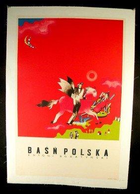 VINTAGE POSTER-POLISH POSTER, CIRCA 1965