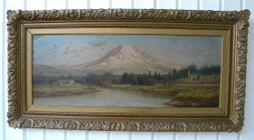 Mountain Landscape By J V D Patch  19th-20th C