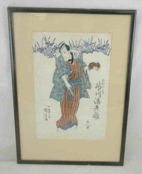19th Century Japanese Woodblock