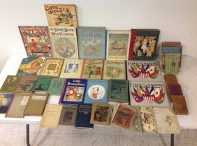 Lot Of Older Childrens Books, Some In Better Condition