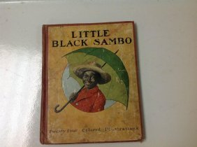 Little Black Sambo Book Copyright 1919 24 Color Illustr