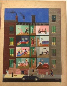 Robert Blanchard New Yorker Magazine Original Illustrat