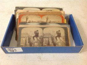 Lot Of 23 Photography-related Stereoviews Including 21