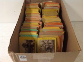 Lot Of 572 Real Photo Stereoviews, European Scenes, All