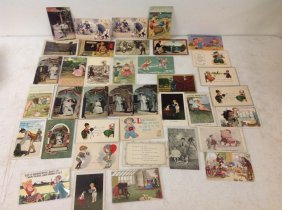 Lot Of 38 Camera Related Postcards, As Pictured, From