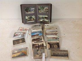 Estate Postcard Lot-- 300 Or So, Including Usa Album,