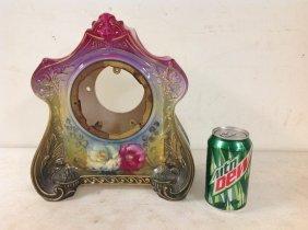 Royal Bonn Ceramic Clock Case, Very Good Condition,