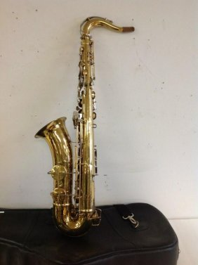 J W York & Sons (?) Tenor Saxophone Serial # 114546