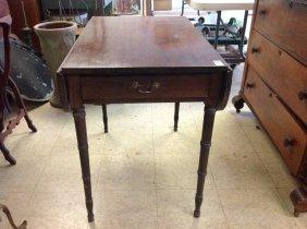 Mahogany Sheraton Pembroke Table, Probably Original