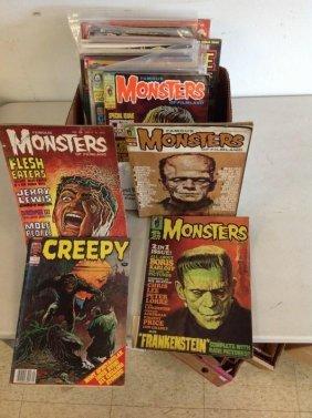 Box Of Monster Magazines