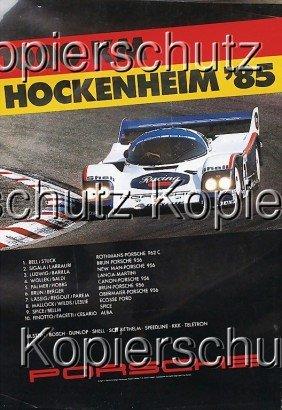 """PORSCHE 5x Racing Poster No. 1: """"Endurance Teamwe"""