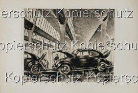 VOLKSWAGENWERK GMBH/GEORG FRITZ Germany 1953, Ori