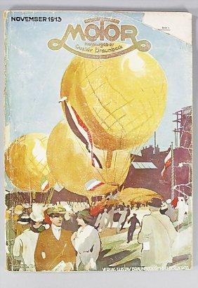 "Magazine ""Motor"" (publisher Gustav Braunbeck), Editi"
