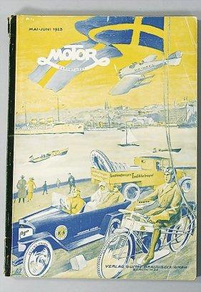 "Magazine ""MOTOR"" Magazine ""Motor"" (export-issue), P"