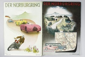 """Magazine """"Der N�rburgring"""", Special Issue 1949, And"""