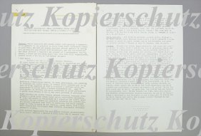 "FERRARI 1965, 17-pages Copy Of The Press Report ""Re"