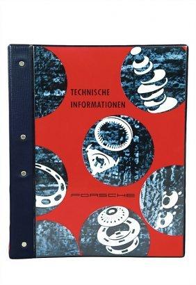 """PORSCHE Portfolio """"Technische Informationen"""" From"""