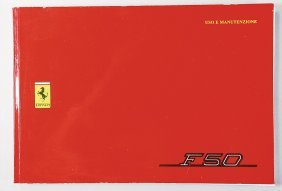 FERRARI Operating Instructions F 50 From 1995, In