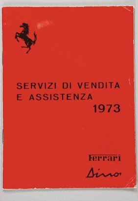 FERRARI Dealer List From 1973, Condition: 2   Ger